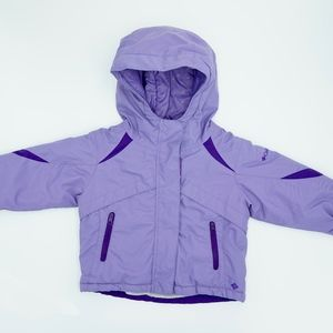 Columbia Baby Girl Lilac Winter Puffer Jacket